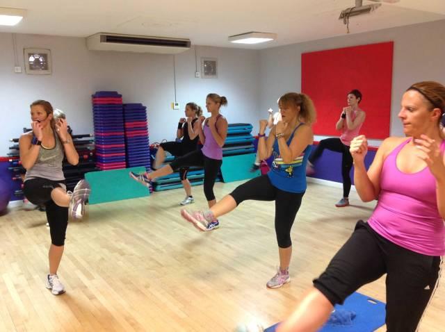 Tabata class Andover Leisure Centre